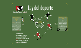 Copy of Ley del deporte