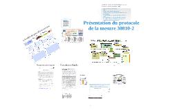 Protocole de la mesure 30810-2