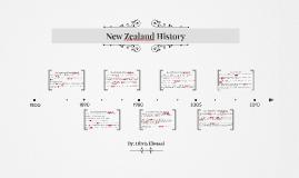 Copy of New Zealand History