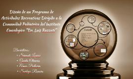 Diseño de un Programa de Actividades Recreativas Dirigido a
