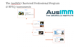 The AusIMM Chartered Professional Program
