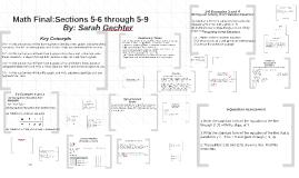 Math Final:
