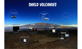 What is a shield volcano?