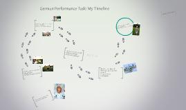 German Performance Task: My Timeline
