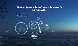 Herramientas de Software de Autoria Multimedia.