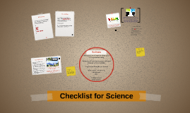 Checklist for Science