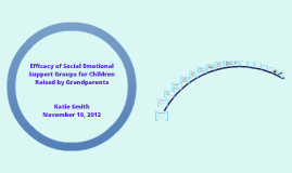 Efficacy of Social Emotional Support Groups for Children Raised by Grandparents