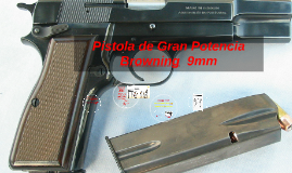 Copy of Pistola Browning Bran Potencia 9mm & La Uzi