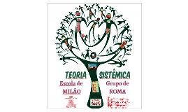 TEORIA SISTÊMICA - Escola de Milão