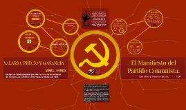 El Manifiesto del Partido Comunista.