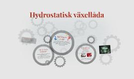 Hydrostatisk växellåda