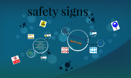 Copy of safety signs