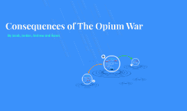 Consequences of The Opium War