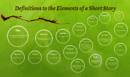 Copy of Definitions to the Elements of a Short Story