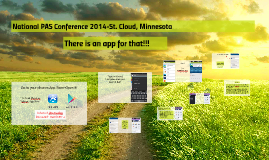 National PAS Conference 2014-St. Cloud, Minnesota