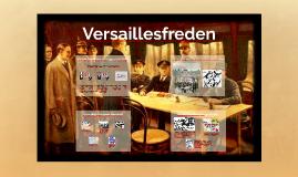 Första världskriget, Versaillesfreden
