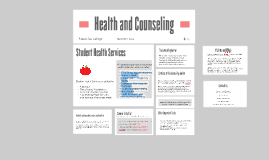 Health and Counseling