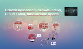 Crowd engineering, Crowd funding, Cloud Labor, Innovazione A