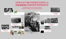 3ème - Civils et militaires dans la première guerre mondiale