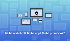 Mobil App-ok az e-kereskedelemben