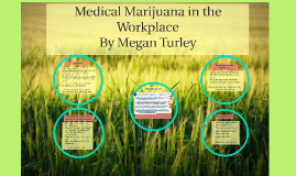 Medical Marijuana in the Workplace By Megan Turley