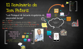 Copy of El seminario de Tom Peters