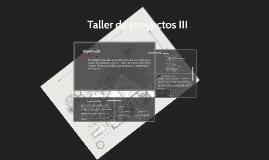 Taller de proyectos iv