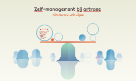 Zelf-management bij artrose