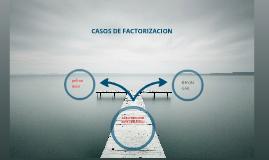 Los 7 casos de factoreo
