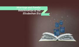 elizabethan era relationships