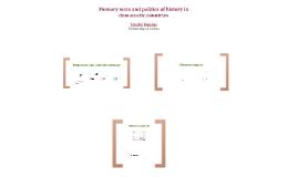 Memory wars and politics of history