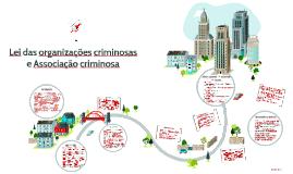 Lei das organizações criminosas