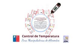 Control de temperatura para manipuladoras de alimentos