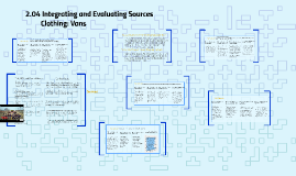 Copy of 2.04 Integrating and Evaluating Sources