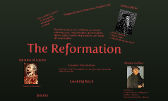 The Reformation: A Religious Movement
