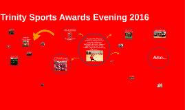 Copy of Trinity Sports Awards Evening 2015