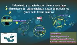 Aislamiento y caracterización de un nuevo fago filamentoso d