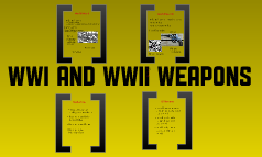 Comparing WWI and WWII