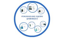Copy of FUNCIONES DEL EQUIPO QUIRURGICO