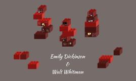 Emily Dickinson and Walt Whitman