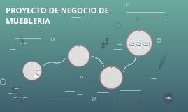 PROYECTO DE NEGOCIO DE MUEBLERIA