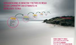 REPRESENTACIONES DE BIENESTAR Y FACTORES DE RIESGO: ESTUDIO
