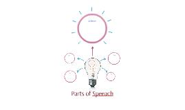 Parts of Speeach