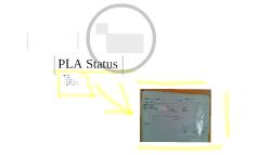 PLA Status