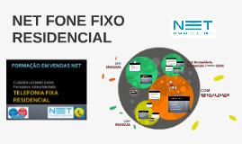 NET FONE FIXO RESIDENCIAL
