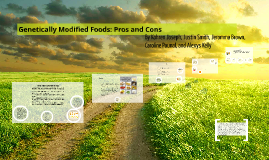 Genetically Modified Foods: Pros and Cons