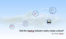 Did the Vaping Industry really create culture?