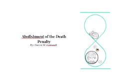 Abolishment of the Death Penalty