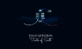 ESSAY QUESTION: