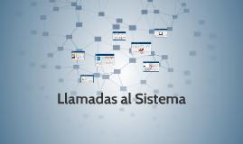 Copy of Llamadas al Sistema